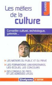 Les metiers de la culture - Intérieur - Format classique