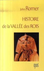 Histoire de la vallée des rois - Intérieur - Format classique