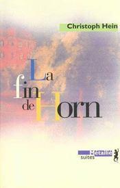 La fin de horn - Intérieur - Format classique
