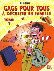 Gags Pour Tous T.1 ; A Deguster En Famille - Intérieur - Format classique