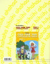 Gags Pour Tous T.1 ; A Deguster En Famille - 4ème de couverture - Format classique