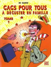 Gags Pour Tous T.1 ; A Deguster En Famille - Couverture - Format classique