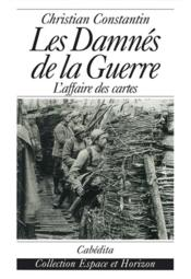 Damnes De La Guerre (Les) - Couverture - Format classique