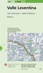Vallée Leventina - Couverture - Format classique
