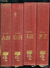 4 Tomes. Dictionnaire Des Oeuvres. Tome 1: De A / Dh. Tome 2: Di / H. Tome 3: I /ph. Tome 4: Pi/ Z. - Couverture - Format classique