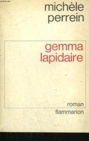 Gemma Lapidaire. - Couverture - Format classique