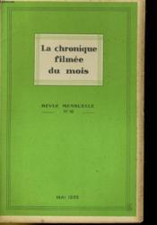 La Chronique Filmee Du Mois N°16 - Couverture - Format classique
