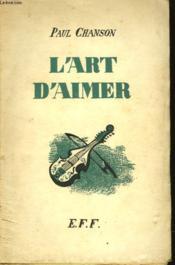 L'Art D'Aimer - Couverture - Format classique