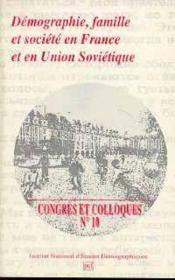 Demographie Famille & Soc. En France - Couverture - Format classique