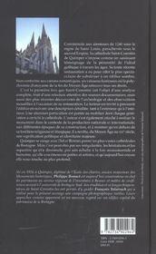Quimper, La Cathedrale - 4ème de couverture - Format classique