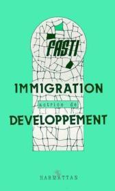 Immigration actrice de développement - Couverture - Format classique