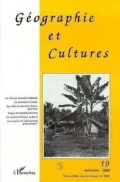Geographie Et Cultures 19 - Couverture - Format classique