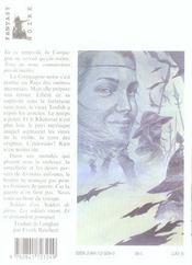 Les Soldats De Pierre T.2 - 4ème de couverture - Format classique