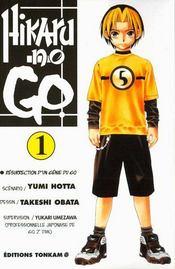Hikaru no go t.1 ; résurrection d'un génie du go - Intérieur - Format classique