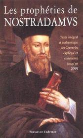 Les prophéties de Nostradamus - Intérieur - Format classique
