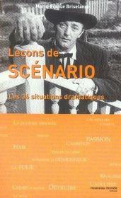 Leçons de scénario ; les 36 situations dramatiques - Intérieur - Format classique
