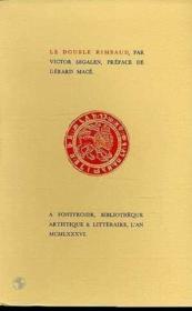 Double Rimbaud (Le) - Couverture - Format classique