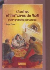 Contes Et Histoires De Noel Pour Grandes Personnes - Couverture - Format classique