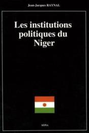 Institutions politiques, Niger - Couverture - Format classique