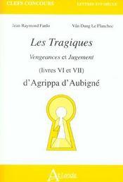 Les Tragiques D'Agrippa D'Aubignee - Intérieur - Format classique