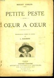 Petite Peste Suivi De Coeur A Coeur. - Couverture - Format classique