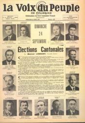 Voix Du Peuple De Touraine (La) N°1360 du 20/08/1967 - Couverture - Format classique