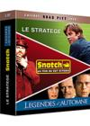DVD &amp; Blu-ray - Coffret Brad Pitt - Le Stratge + Snatch + Lgendes D'Automne