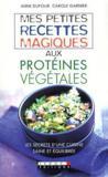 Livres - Petites Recettes Aux Proteines Vegetales (Mes)