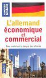 L'allemand économique et commercial