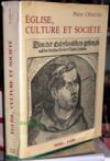 Eglise Culture Et Societe