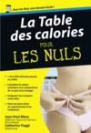 Livres - La table des calories pour les nuls