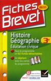 Livres - Histoire-gographie ; 3me
