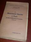 Livres - Le mouvement ouvrier à Paris pendant la Révolution française (1789-1791).