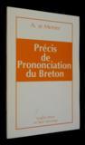 Precis De Prononciation Du Breton