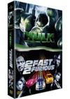 DVD &amp; Blu-ray - Hulk + 2 Fast 2 Furious