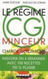 Le régime CG minceur ; charge glycémique