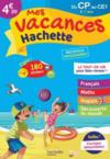 Mes vacances Hachette ; du CP au CE1