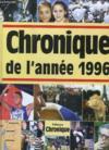 Chronique de l'année 1996