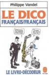 Dico Francais/Francais