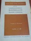 RÉGION LANGUEDOC-ROUSSILLON: économie et population