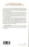 La quête de l'universel dans la littérature africaine ; de Léopold Sédar Senghor à Ben Okri