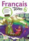 Terre Des Lettres ; Français ; 6ème ; Livre De L'Elève (Edition 2009)