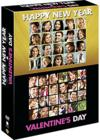 DVD & Blu-ray - Happy New Year + Valentine'S Day