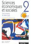 Sciences Economiques Et Sociales 2e Documents Et Exercices