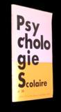Psychologie scolaire n°39 (21er trimestre 1982)