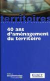 40 ans d'aménagement du territoire (5e édition)