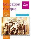 Education Civique 4e - Livre De L'Eleve - Edition 2006