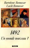 1492 Un Monde Nouveau