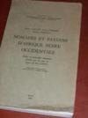 Nomades et paysans d'Afrique noire occidentale: études de géographie soudanaise publiées par les soins de X. de Planhol.
