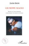 Giuseppe Maggi ; regard sur l'oeuvre humaniste et missionnaire d'un médecin de brousse
